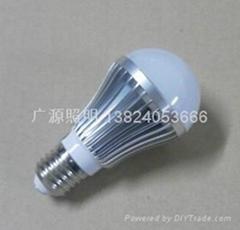 大功率5WLED灯泡