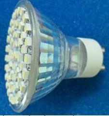 LED spotlight 3W 54beads GU10 base lamps