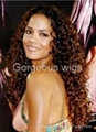 Halle Berry Spiral Curl Lace Wig 3