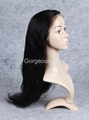 Siky Straight frontal lace wigs 3