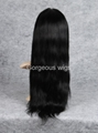 Siky Straight frontal lace wigs 4