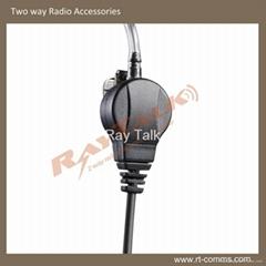 Acoustic Tube Kits E-40 for Two Way Radios