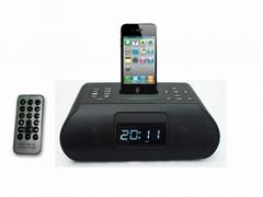 ipod/iphone speaker alarm clock speaker