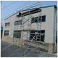 Aluminum group scaffolding