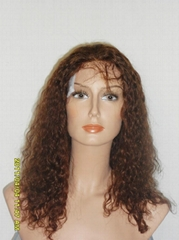 100% chinese virgn remy hair full lace wigs with baby hair
