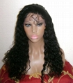 indian human hair full lace wigs