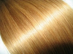 Chinese remy human hair weft