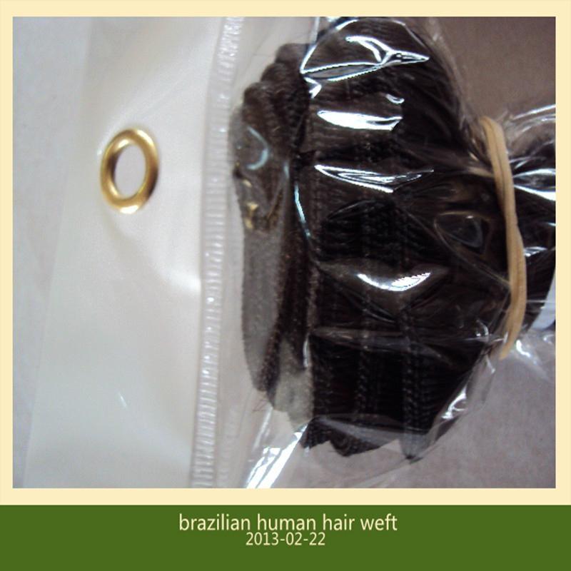 brazilian virgin human hair weft extensions 2