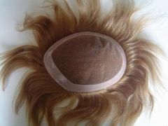 indian human hair men toupee