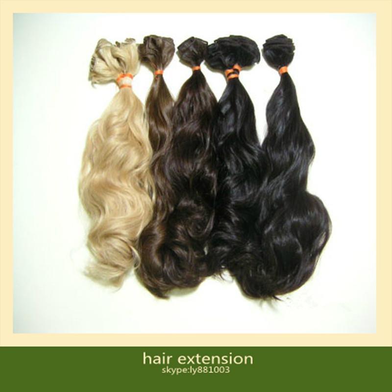 Brazilian Virgin Human Hair Extensions 3
