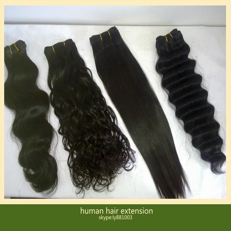 Brazilian Virgin Human Hair Extensions 5