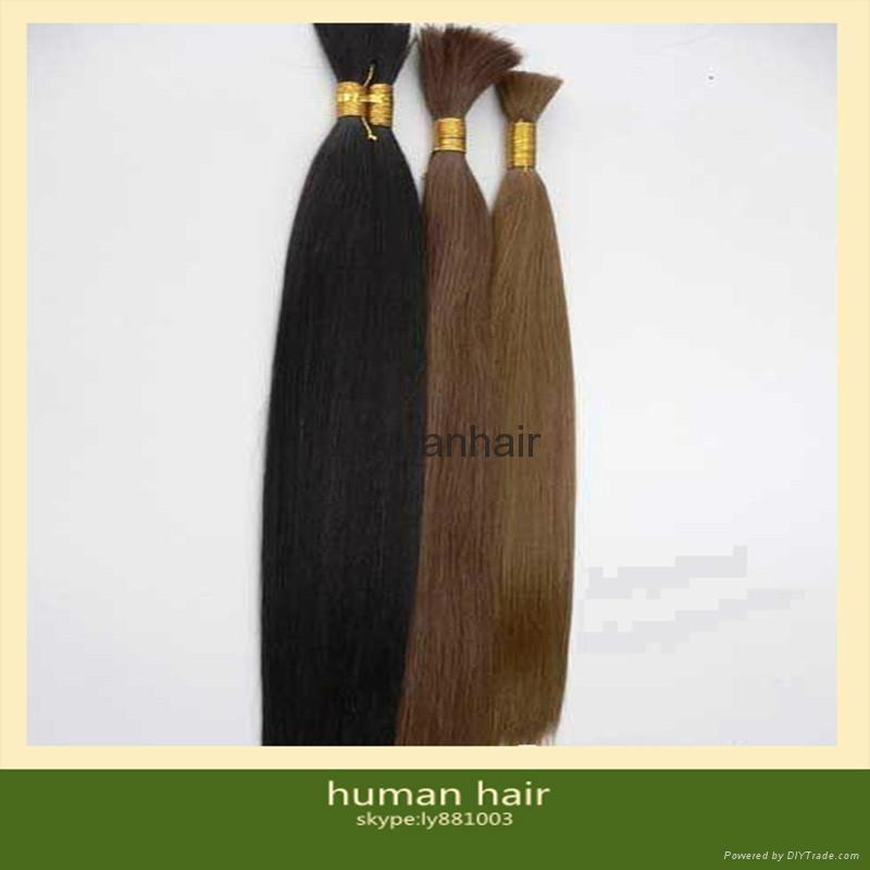 brazilian human hair bulk extensions 5