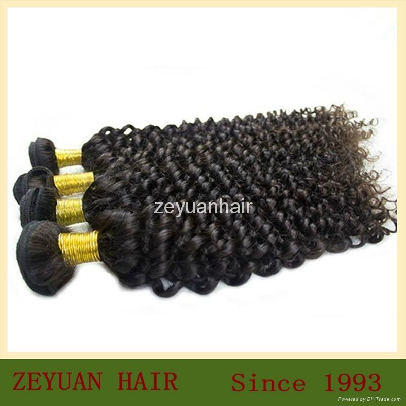 Unprocessed Virgin Remy Brazilian Human Hair Extension 4
