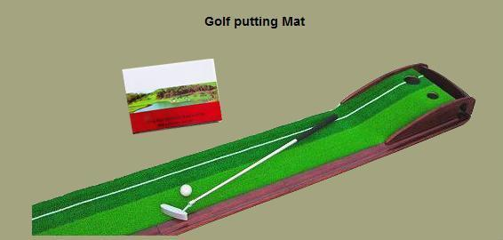 Golf putting mat 1