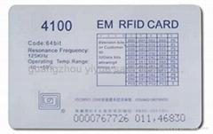 Pvc ID IC Card plastic smart card