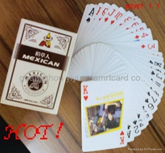 plastic poker Ad playing cards