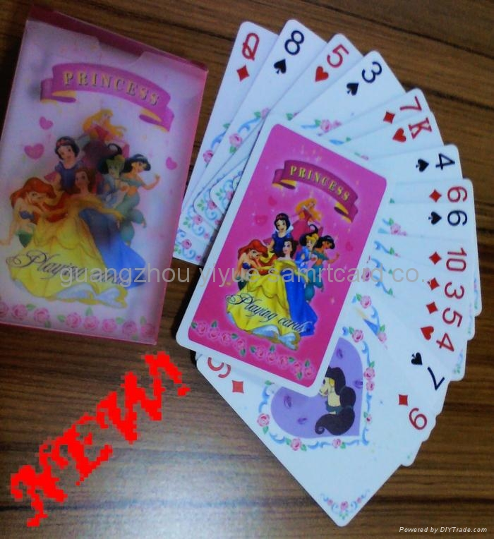 plastic poker Ad playing cards 2