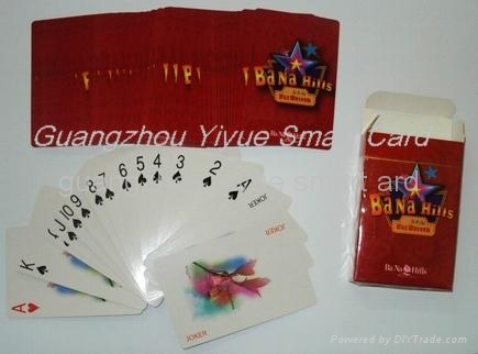 Ad. Paper Poker Playing Cards 5