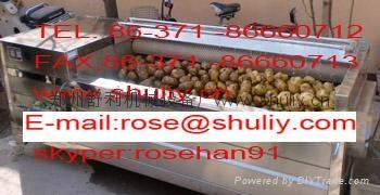potato peeling and washing machine 1