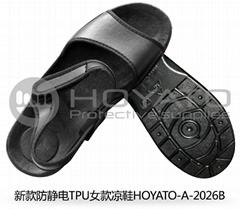 新款防靜電TPU女款涼鞋