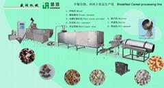 Core-filling machinery