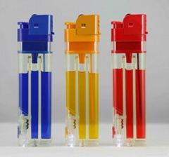 FH-218dj  big lighter with LED lighter,ISO9994,CR