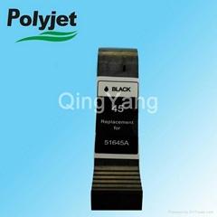 remanufactured ink cartridge 45 compatible for HP Deskjet250c 650c 1200c