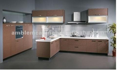 Modern Wooden Melamine Kitchen Cabinet