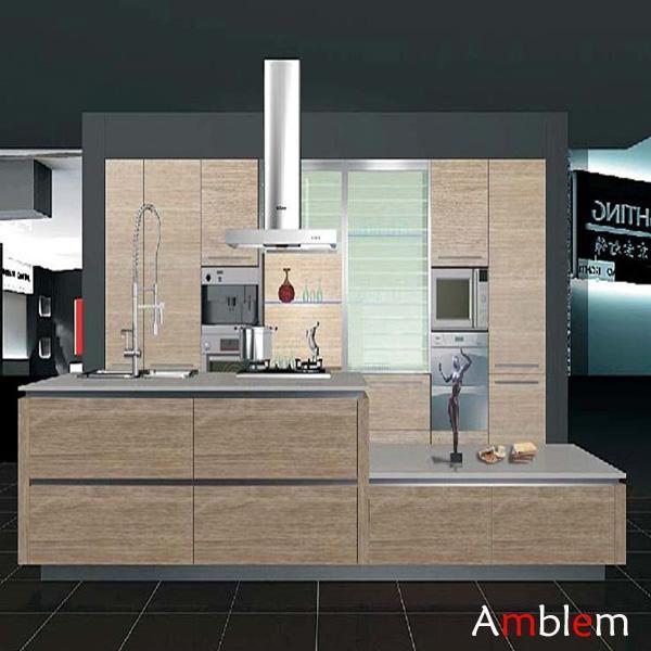 Modern wooden melamine kitchen cabinet china for Modern kitchen cabinet manufacturers
