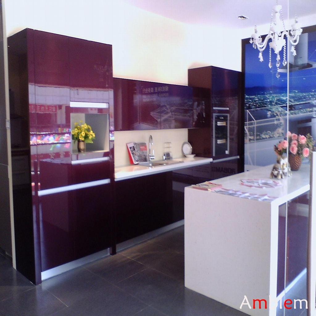 purple Lacquer kitchen cabinet  Product Catalog  China  Hangzhou
