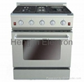 30 Inches Gas Oven with Electric Ceramic