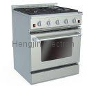 30 Inches Gas Oven with Electric Ceramic Furnaces  2