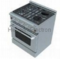 30 Inches Gas Oven with Electric Ceramic Furnaces  3