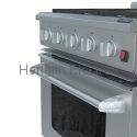 30 Inches Gas Oven with Electric Ceramic Furnaces  4