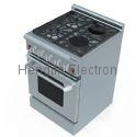 24 Inches Gas Oven with Electric Ceramic Furnaces 3