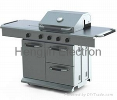 4MB + 1SB Economical SS Grill