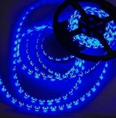 LED strip SMD3528 60LEDS/M Glue dropping IP55, Blue, waterproof