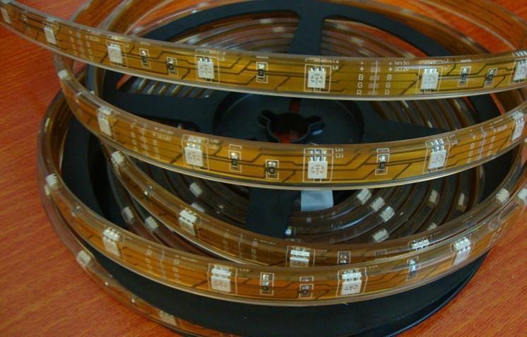 LED strip SMD 5050 30LEDS/M Silicone tube IP67 1