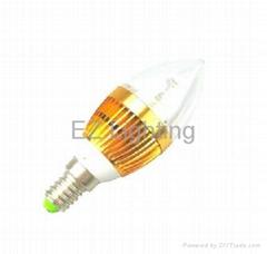 LED candle light 3-4W E14 E27