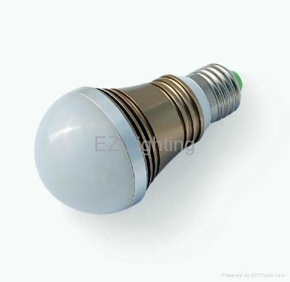 LED bulb 5W 6W E27 3