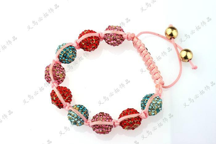 2012 Hot Sell Newest Shamballa Bracelet  JY0402SBL02 1
