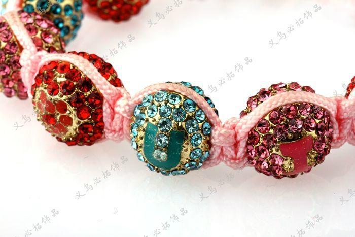 2012 Hot Sell Newest Shamballa Bracelet  JY0402SBL02 2