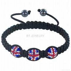 Union Jack Bracelet Jewerly British Flag Jewelry