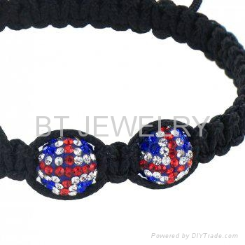 Union Jack Bracelet Jewerly British Flag Jewelry 2