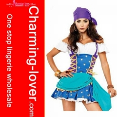 sexy costume of sexy pirate costume and adult party costumes wholesale