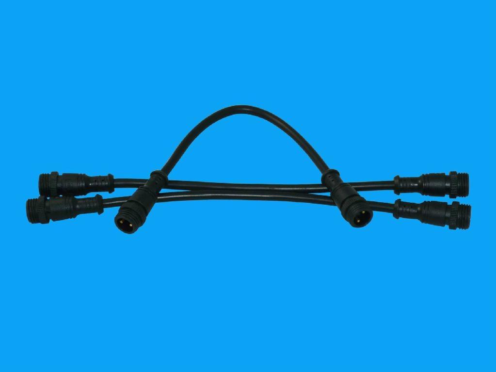 led護欄管防水插頭 1