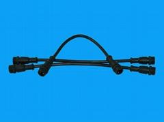 led護欄管防水插頭