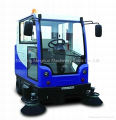 全封闭式电动扫地车 MN-E800LC