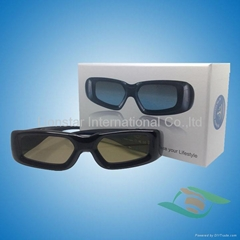 Active shutter glasses for active 3d TV