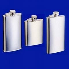 Mini stainless steel hip flask